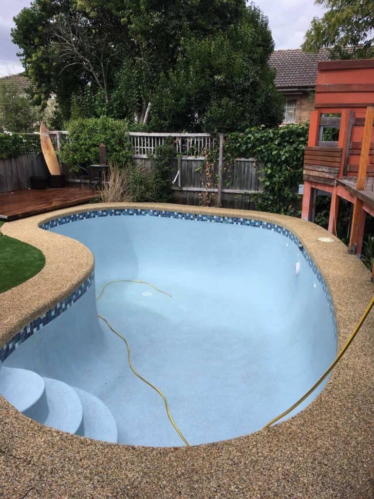 Swimming pool refurbishment repairs resurfacing cost for Swimming pool resurfacing