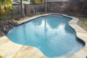 frankston south after pool renovation