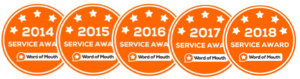 WOMO Service awards combined