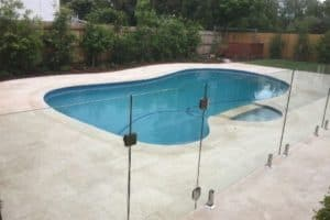 a completed, Full pool renovation in After Mount Waverley