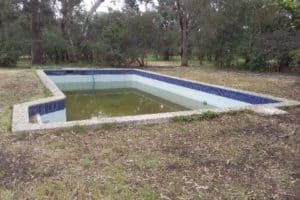 Pool Interior Before Heathmont
