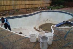 before full pool renovation in Mt Waverley