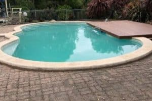 after a full pool renovation in Mt Eliza