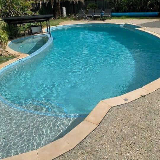 Pool restoration Sunbury after