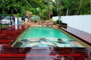 full pool renovation in Olinda