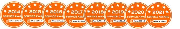 WOMO Service Awards 2021